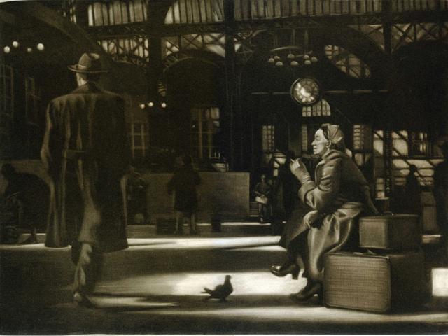 Penn-Station -  Maniere Noire 30 x 40 cm