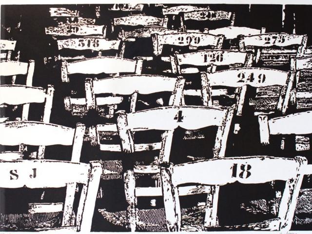 Loto KTO Xylographie 40 x 60 cm