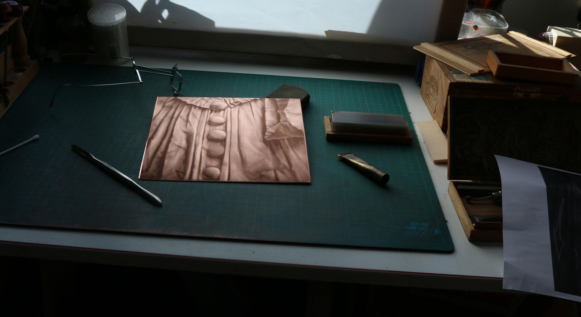 Table gravure